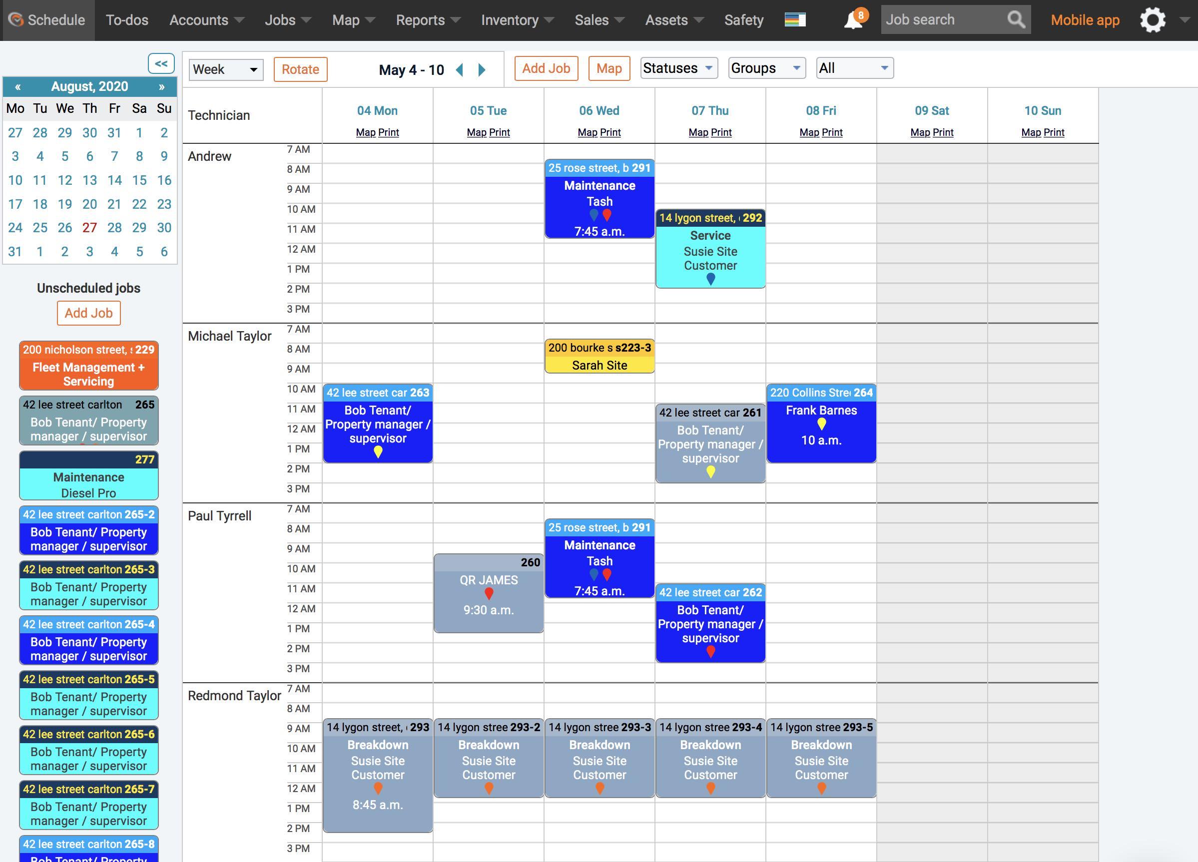 Smooth the Calendar