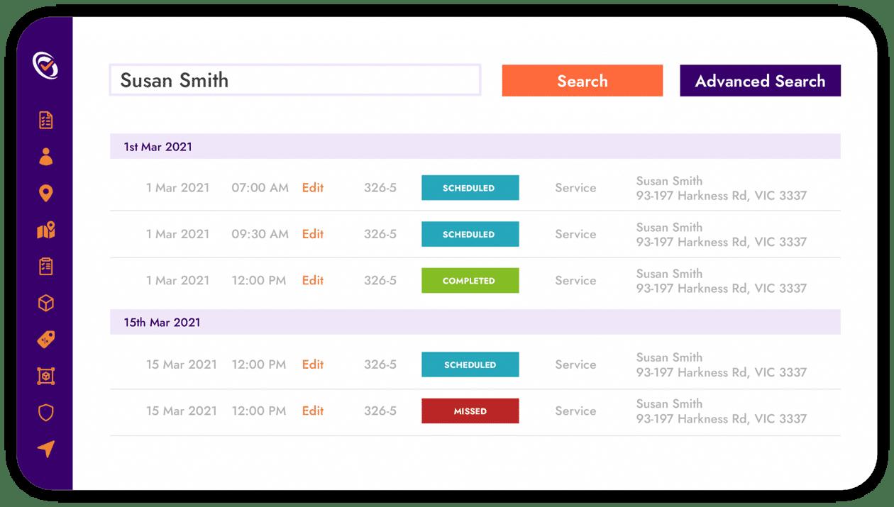 FieldInsight Job Scheduling Software